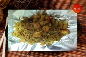 Морски деликатес с оризово фиде