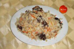 Ориз с три вида гъби