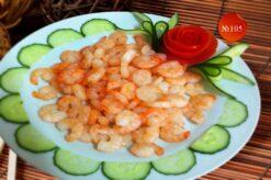 Скариди със сладко кисел сос